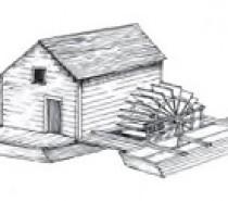 Les moulins-bateaux du Doubs