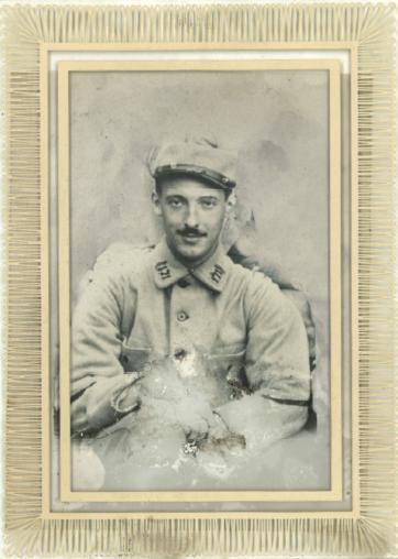 René Pagney, Agent de liaison au 171e RI