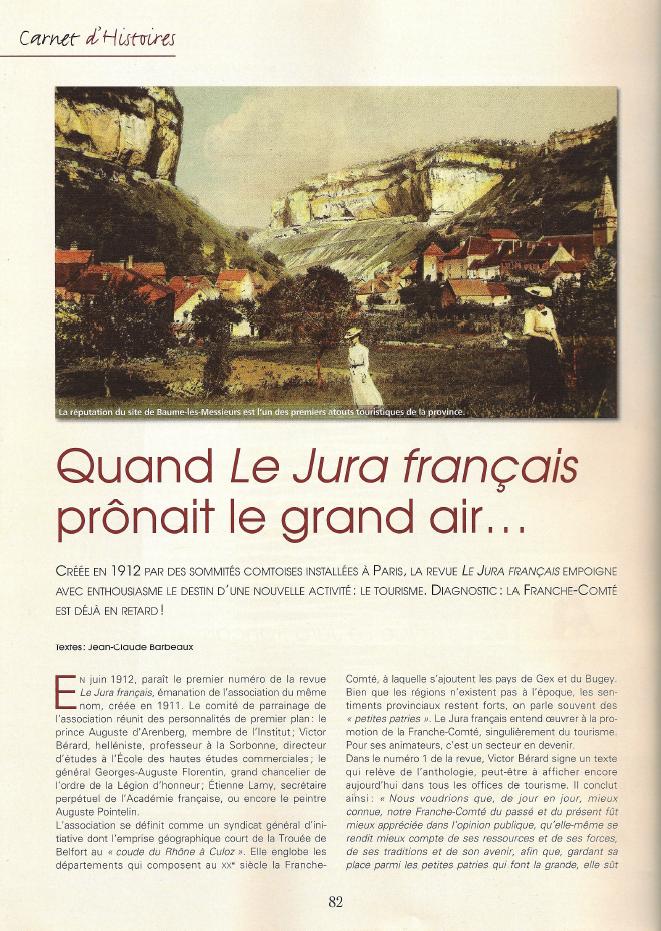 3 Pays Comtois Page 82 Jura Français
