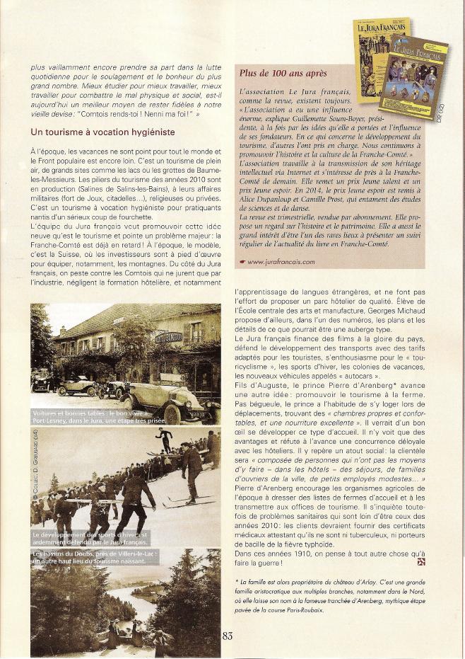 4 Pays Comtois Page 83 Jura Français
