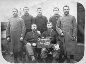 Le 171e R.I. au repos (1915)