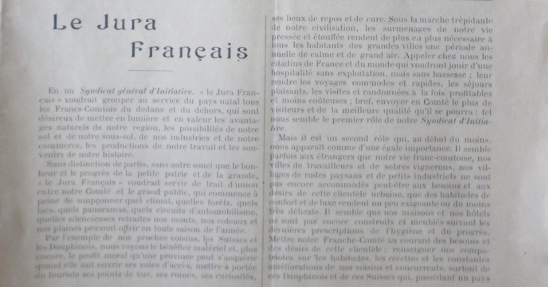 Définition de l'Association 1911 JF N°1