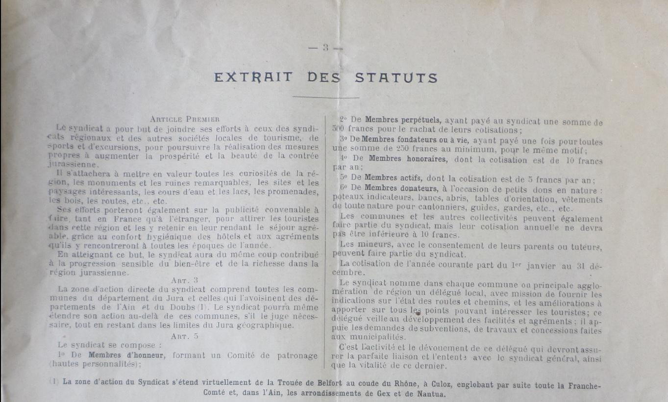 Status 1911 page 3 du JF N°1