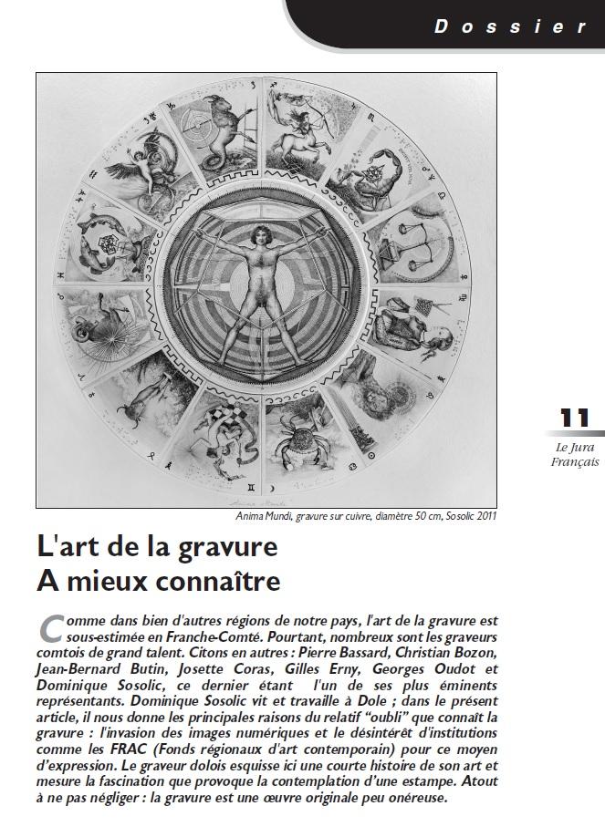 Le Jura Français Dossier N°300 page 11