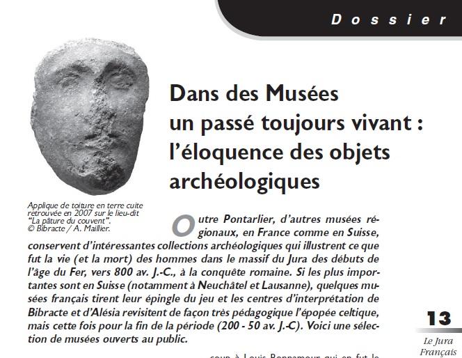 Le Jura Français Dossier N°302 page 13