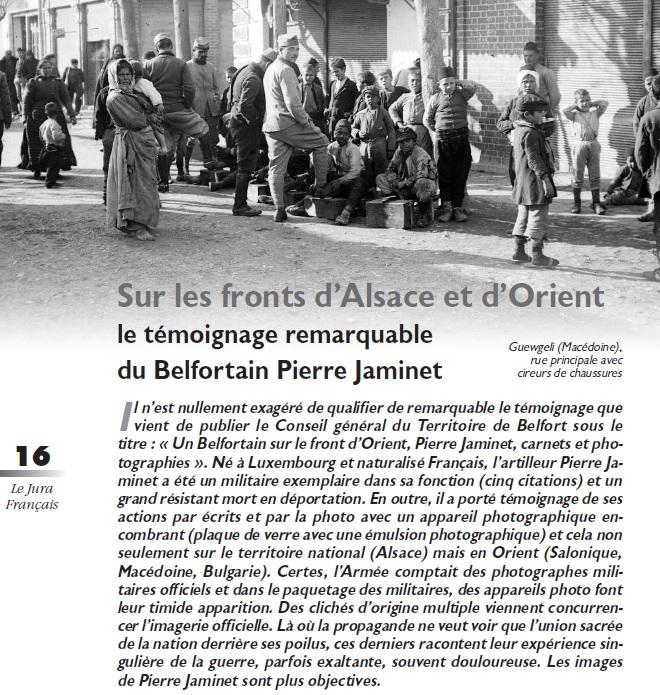 Le Jura Français Dossier N°303 page 16