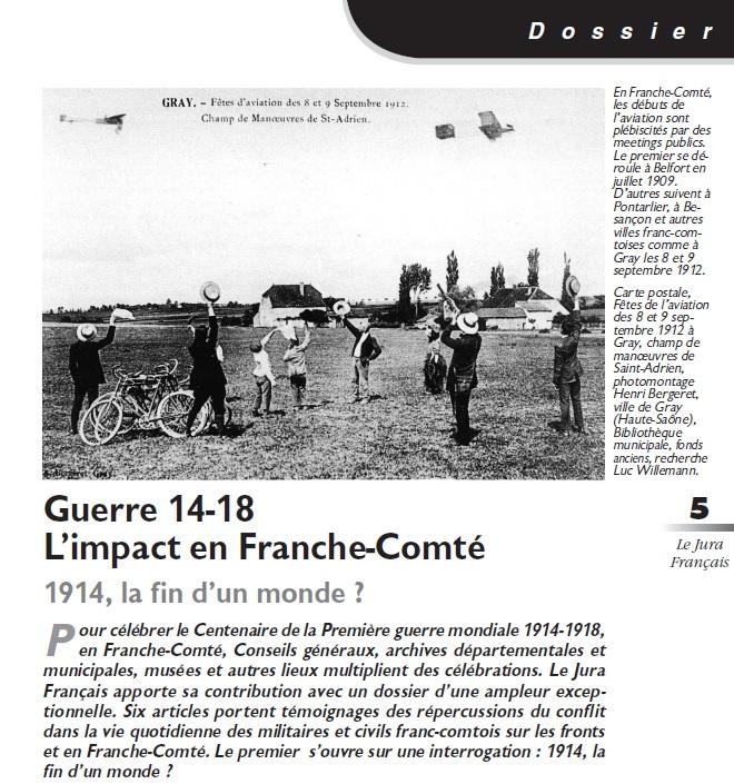 Le Jura Français Dossier N°303 page 5