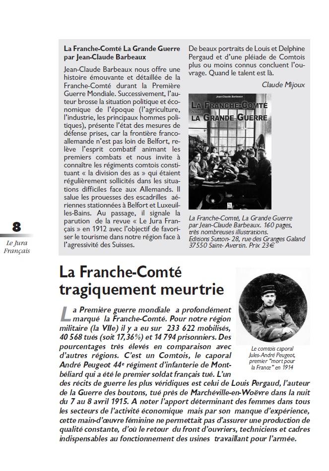 Le Jura Français Dossier N°303 page 8