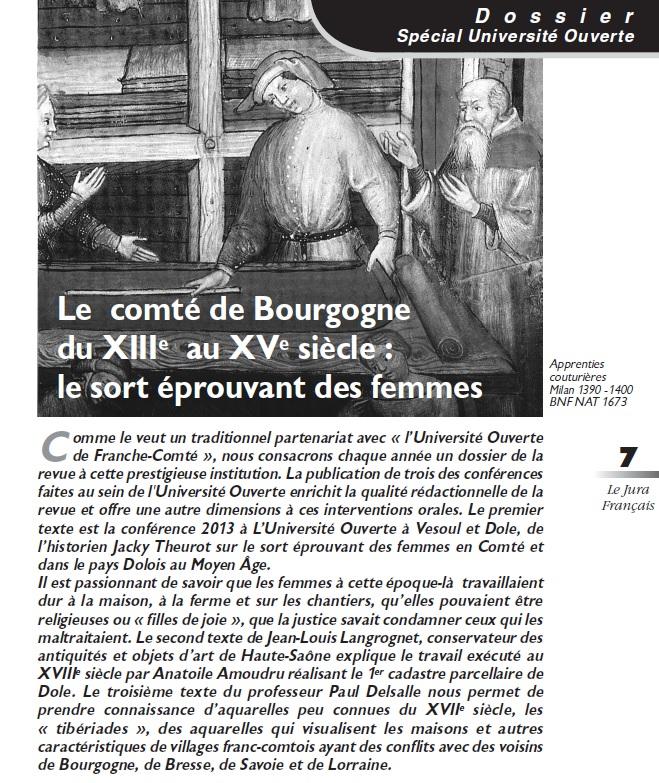 Le Jura Français Dossier N°304 page 7