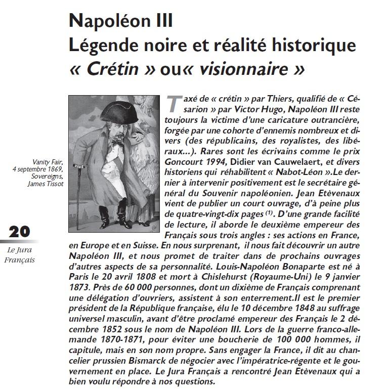 Le Jura Français Les hommes N°302 page 20