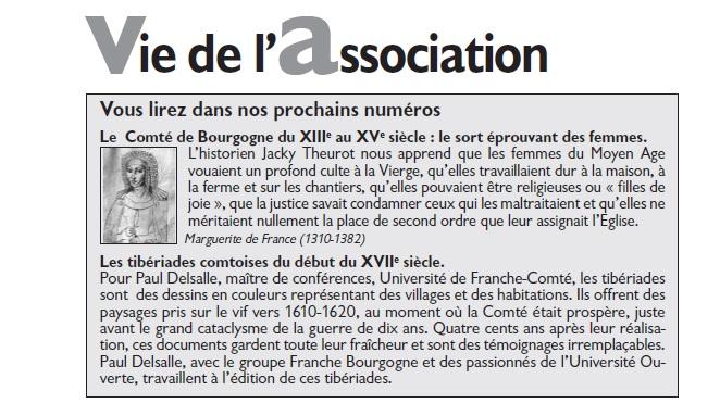 Le Jura Français Vie de l'association N°303 page 2