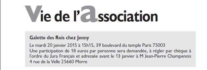 Le Jura Français Vie de l'association N°304 page 2