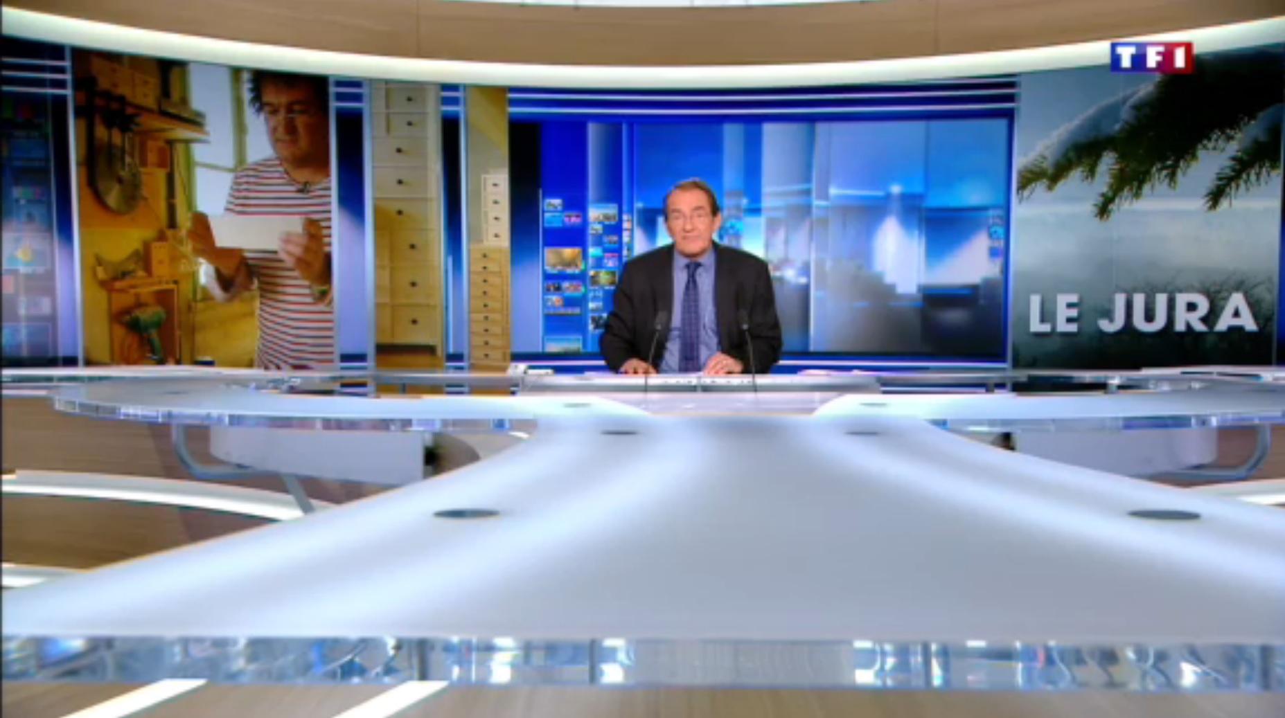 TF1  Jura (4-5) les layettes, l'art de tailler le bois d'épicéa 0