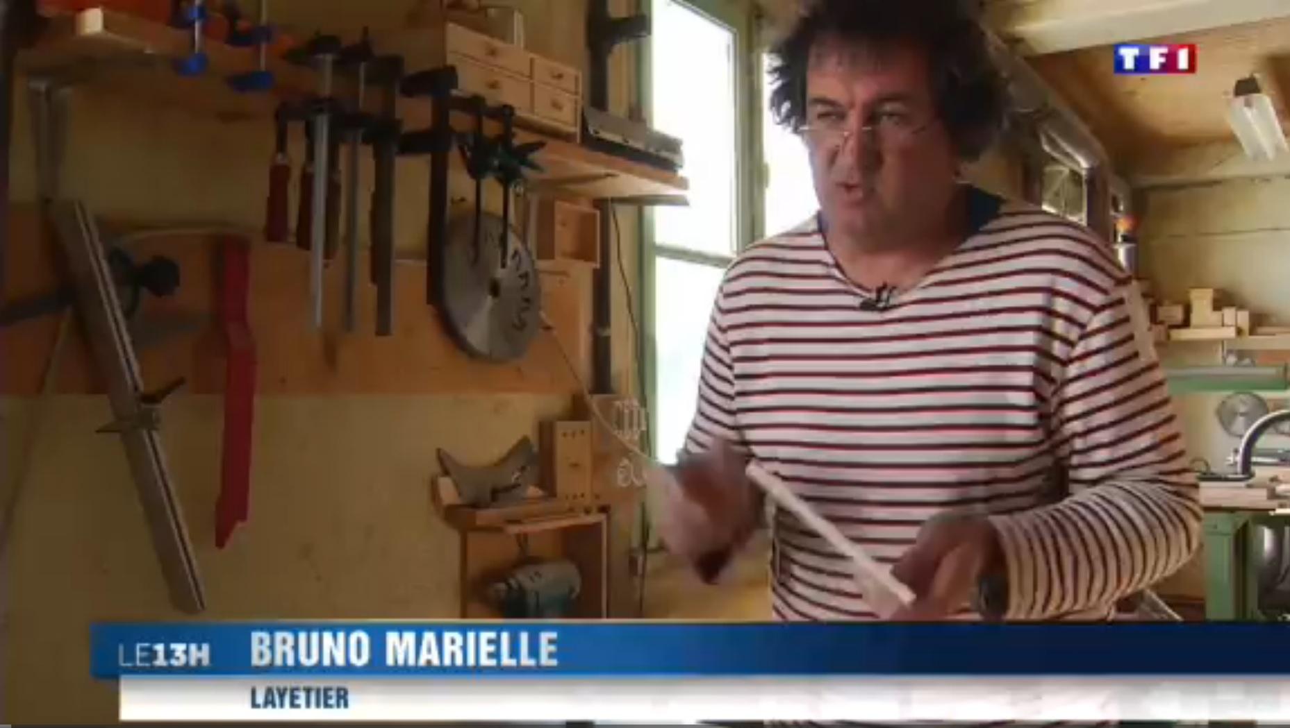 TF1  Jura (4-5) les layettes, l'art de tailler le bois d'épicéa 19