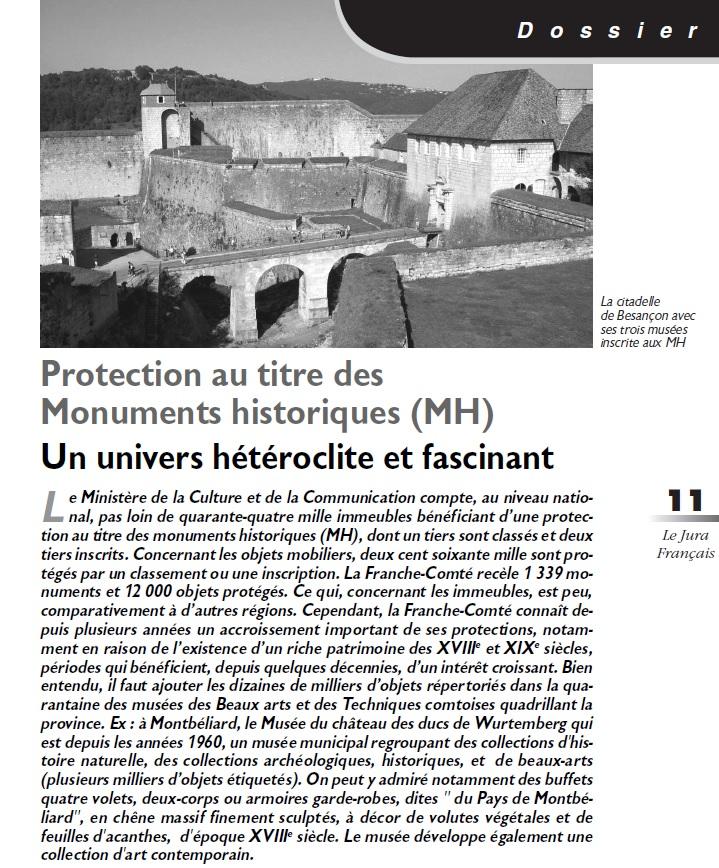 Le Jura Français Dossier N°305 page 11
