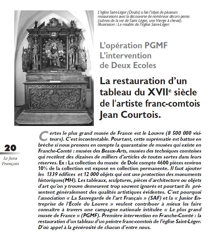 Le Jura Français Dossier N°305 page 20