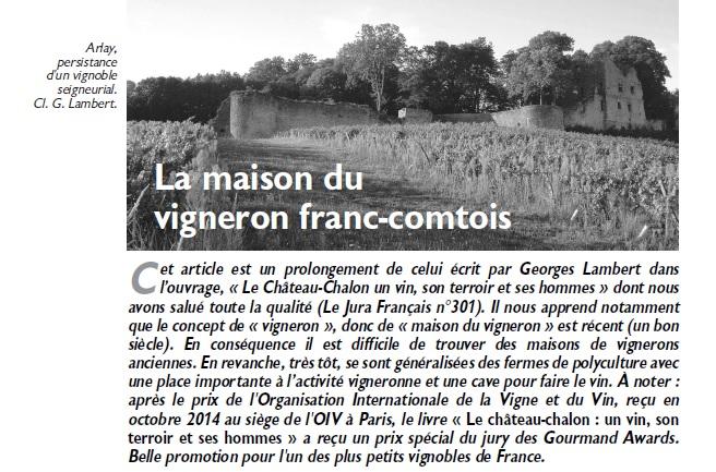 Le Jura Français Evénements N°305