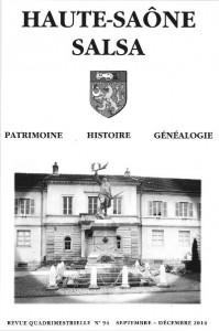 Le Jura Français N°305 Revue des Publications 1 Haute-Saône, Salsa, n°92