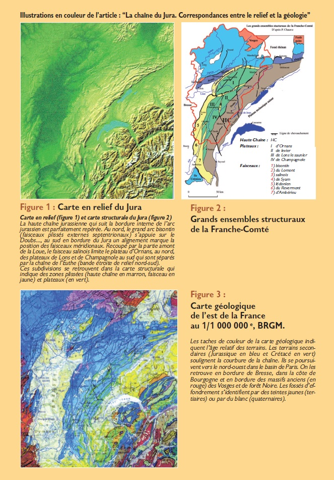 Le Jura Francais N 297 Echos 3ieme de couverture