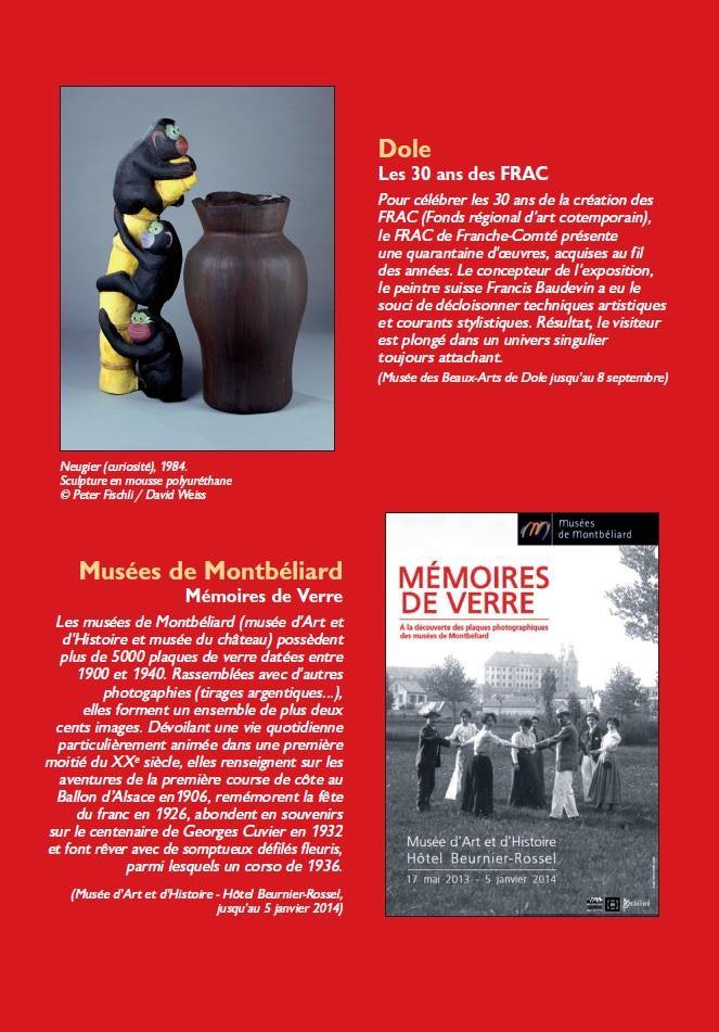 Le Jura Français N°299 Echos 4ieme de couverture