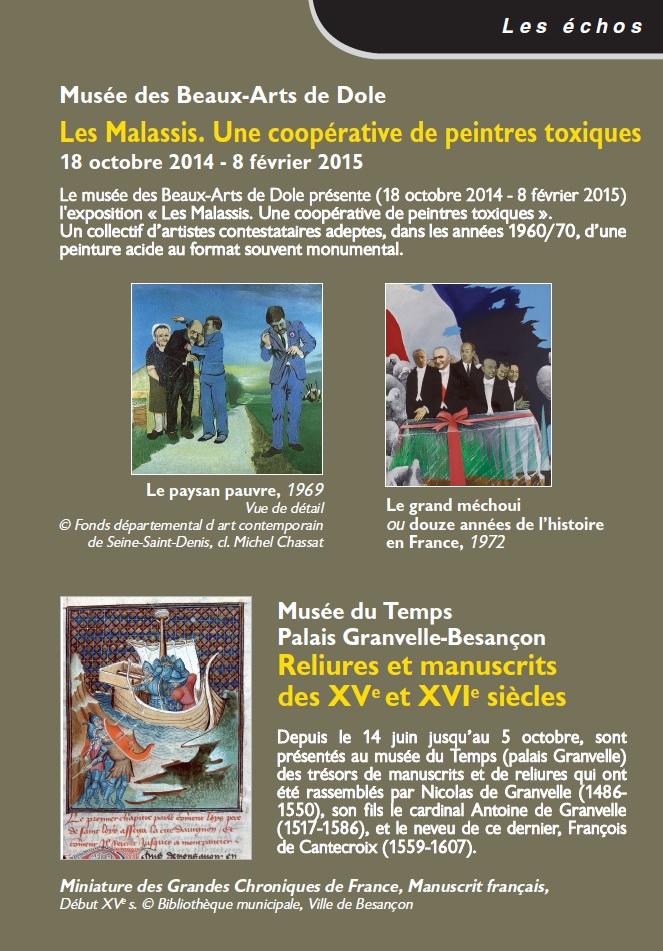 Le Jura Francais N 303 Echos 3ieme de couverture