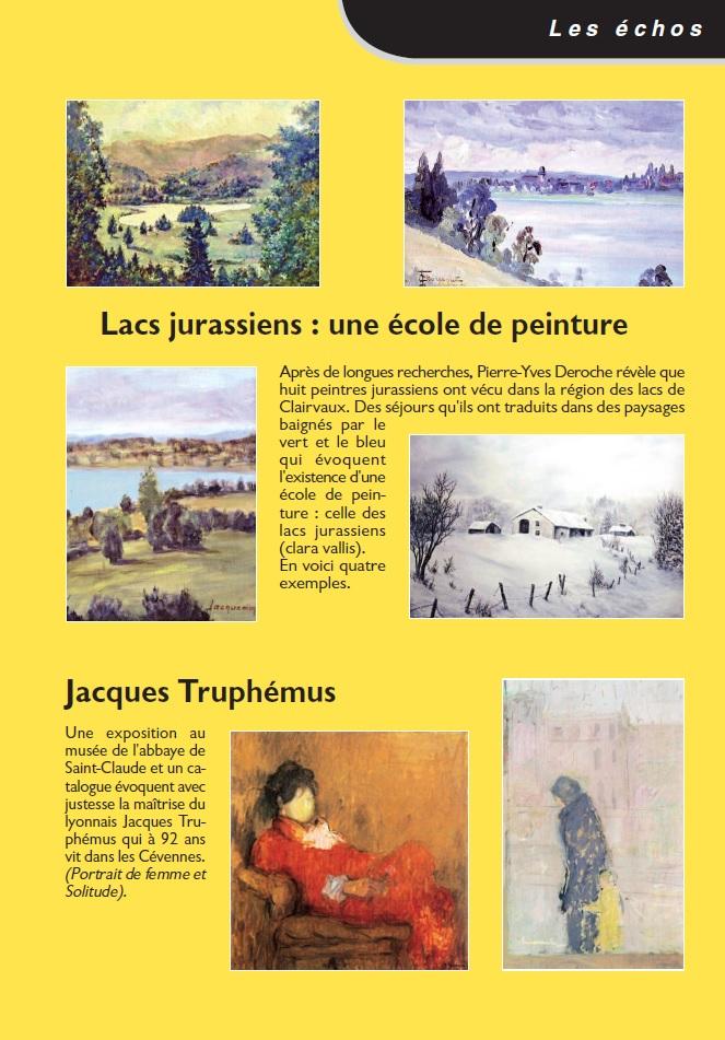 Le Jura Francais N 304 Echos 3ieme de couverture
