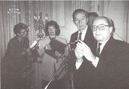 Remise du Prix du Jeune Talent du Jura Francais 1997