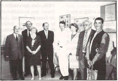 Remise du Prix du Jeune Talent du Jura Francais 1998