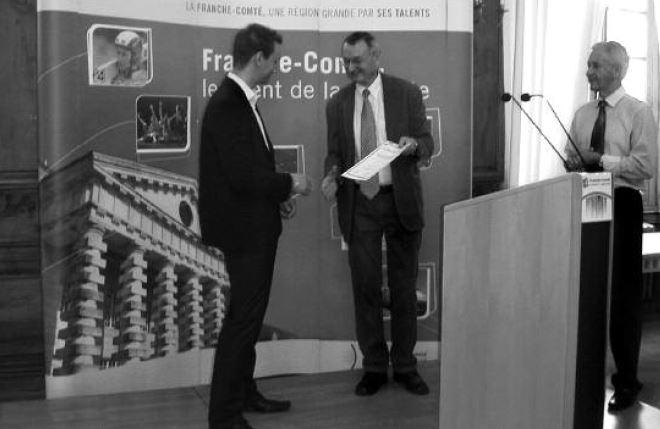Cyril Clopet prix du Jeune Talent du Jura Francais 2011