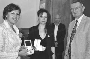 Pauline Repussard prix du Jeune Talent du Jura Francais 2012