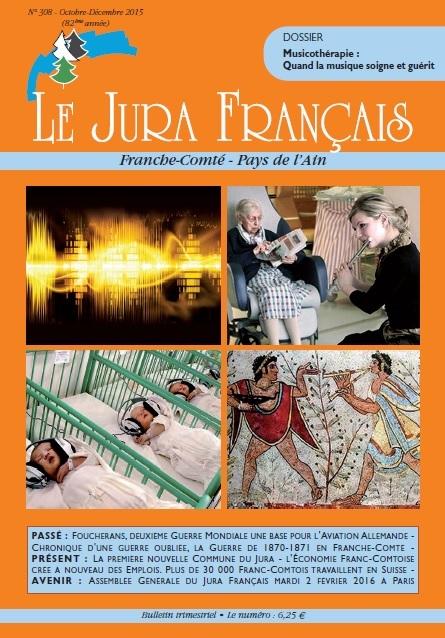 Jura Français N 308 Octobre - Décembre 2015