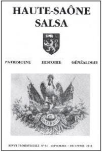 Le Jura Français N°301 Revue des Publications 1 Haute-Saône Salsa N°91