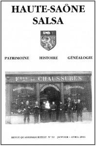 Le Jura Français N°303 Revue des Publications 1 Haute-Saône, Salsa grand