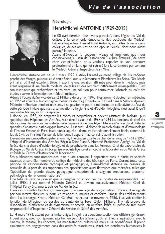 Le Jura Francais Vie de l association N 307 page 3