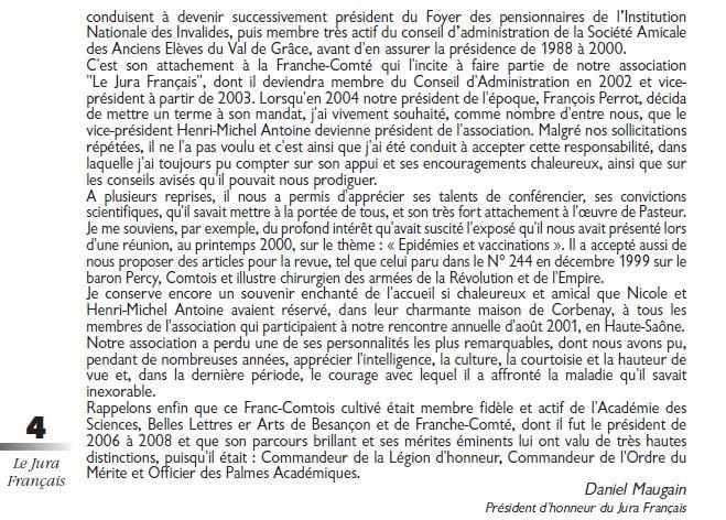 Le Jura Francais Vie de l association N 307 page 4