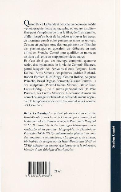 FRANC COMME UN COMTOIS - Brice Leibundgut