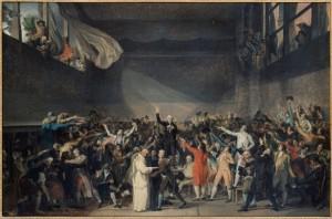 Musée carnavalet Collections peintures serment du jeu de paume