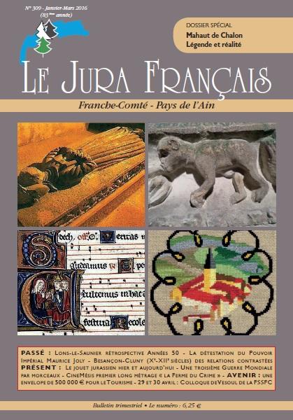 Jura Français N 309 Janvier - Mars 2016 couverture