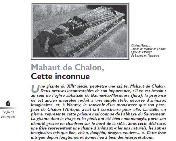 Le Jura Francais Dossier N 309 page 6