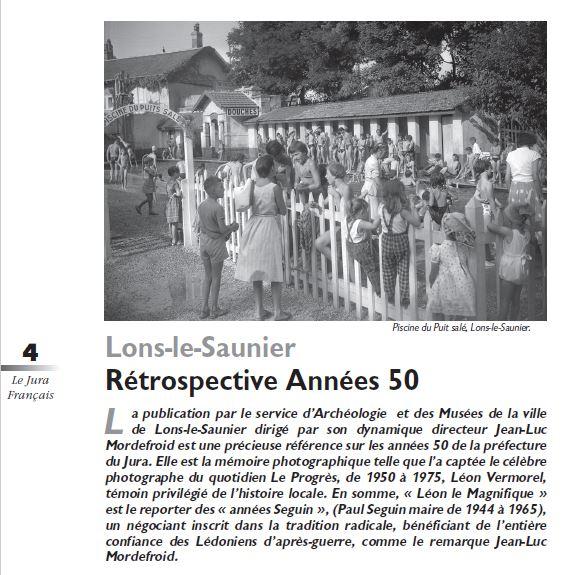 Le Jura Francais Evénements N 309 page 4