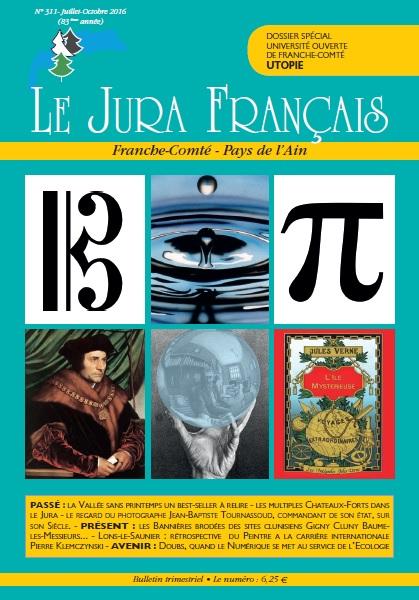 Le Jura Francais N°311 2016 Couverture