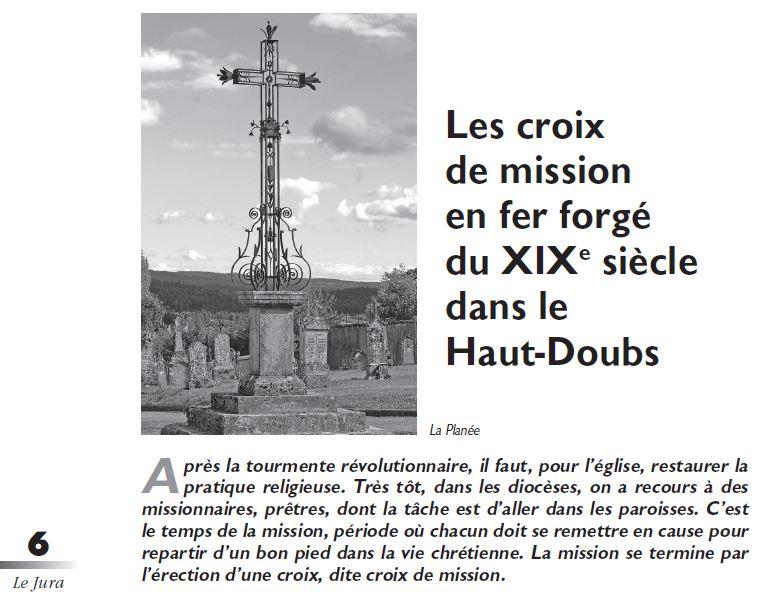 Le Jura Francais Dossier N°310 page 6