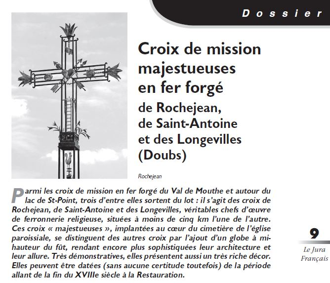 Le Jura Francais Dossier N°310 page 9
