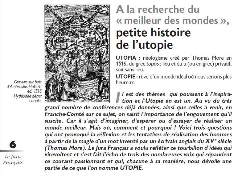 Le Jura Francais Dossier N°311 page 6