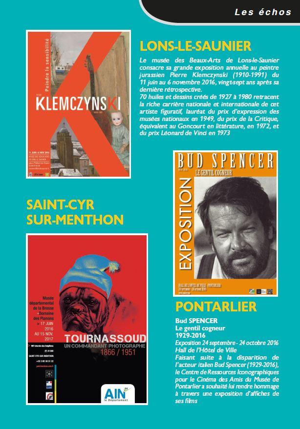 Le Jura Francais N°311 Echos 3ieme de couverture