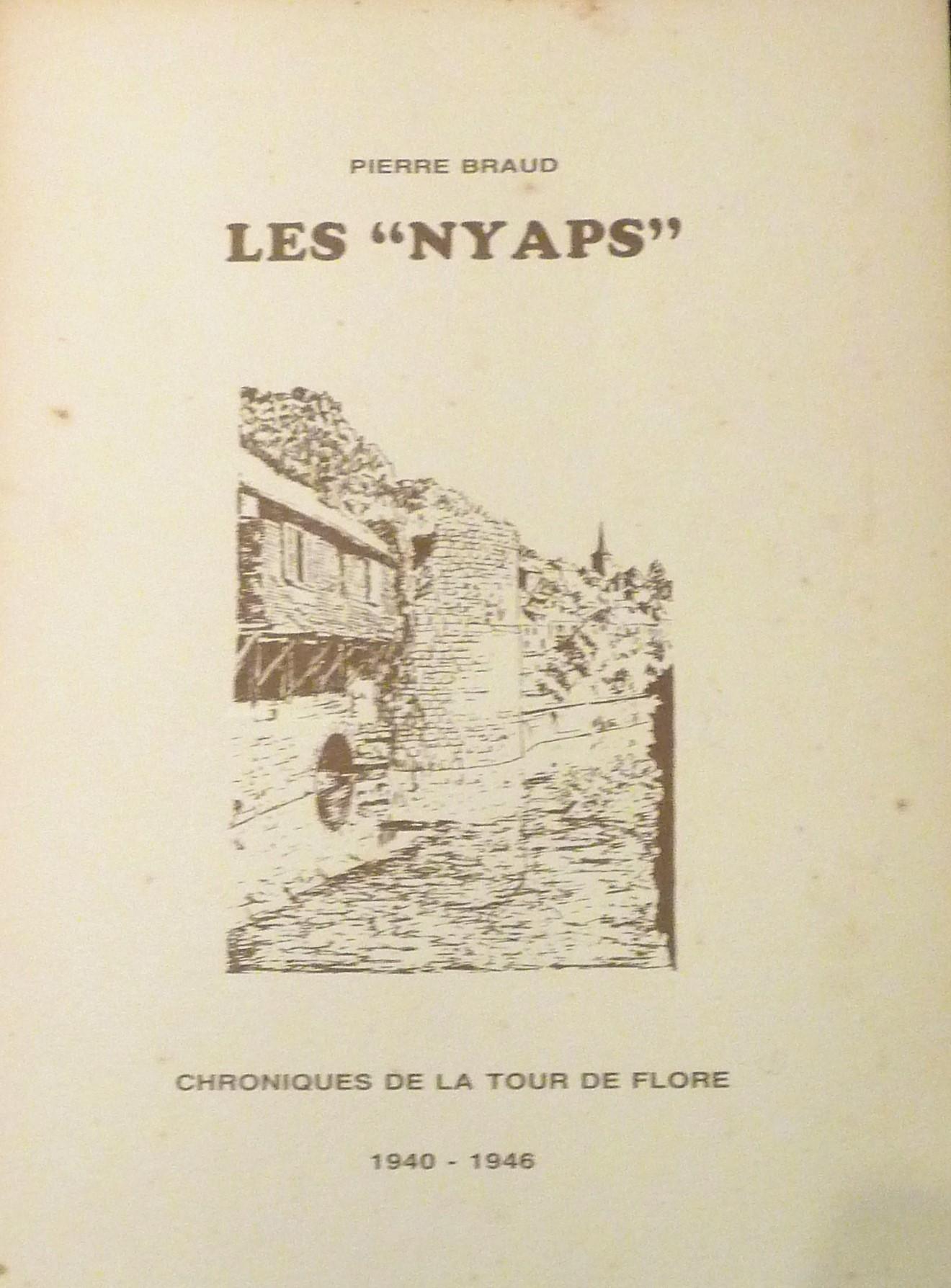 Le Jura Francais N°312 Revue des Livres 2 Les Nyaps ou Chronique de la tour de Flore de Pierre Braud