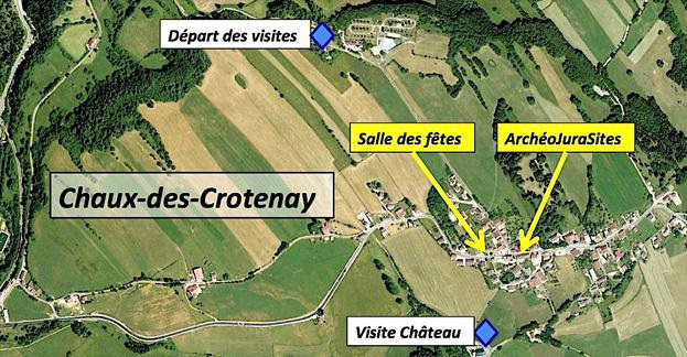 Archeojurasites PLAN Informations pratiques