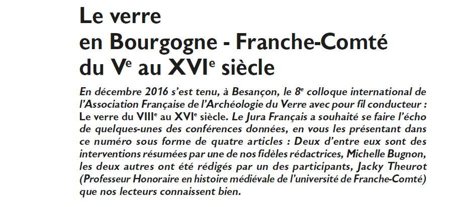 Le Jura Francais Dossier N 313 page 10-1