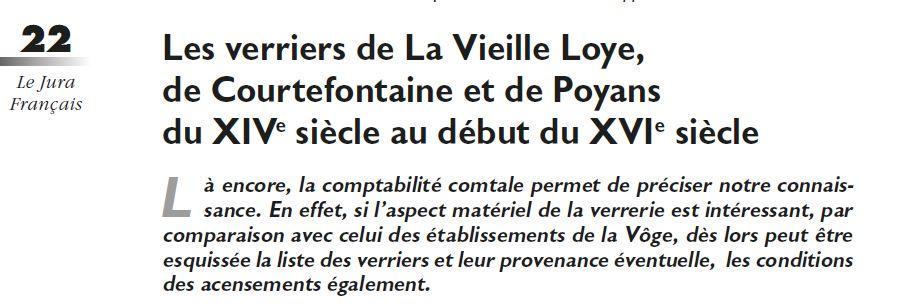 Le Jura Francais Dossier N 313 page 22