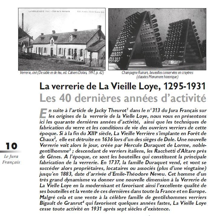 Le Jura Francais Dossier N 314 page 10